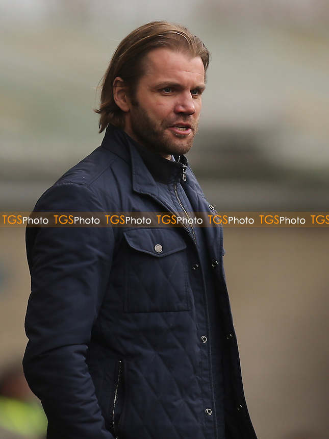 MK Dons Manager, Robbie Neilson during Millwall vs MK Dons, Sky Bet EFL League 1 Football at The Den on 4th March 2017