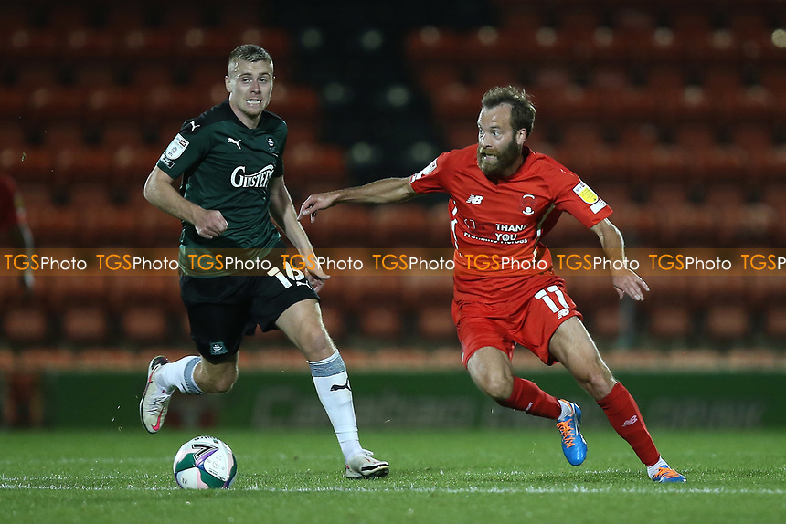 James Dayton of Leyton Orient during Leyton Orient vs Plymouth Argyle, Caraboa Cup Football at The Breyer Group Stadium on 15th September 2020