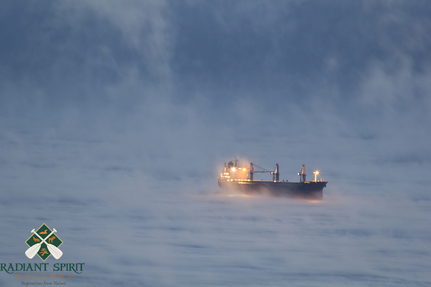 &quot;Steamed on Lake Superior&quot;<br />
