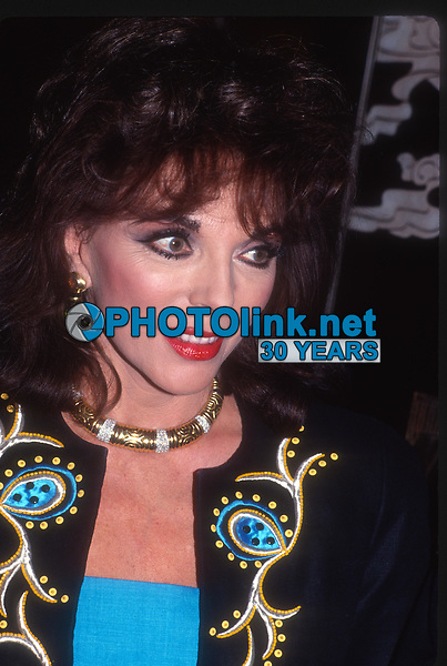 Joan Collins 1985<br /> Photo By John Barrett/PHOTOlink.net