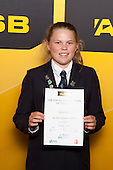 Girls Cricket winner Georgia Guy from Mt Albert Grammar School. ASB College Sport Young Sportsperson of the Year Awards held at Eden Park, Auckland, on November 24th 2011.