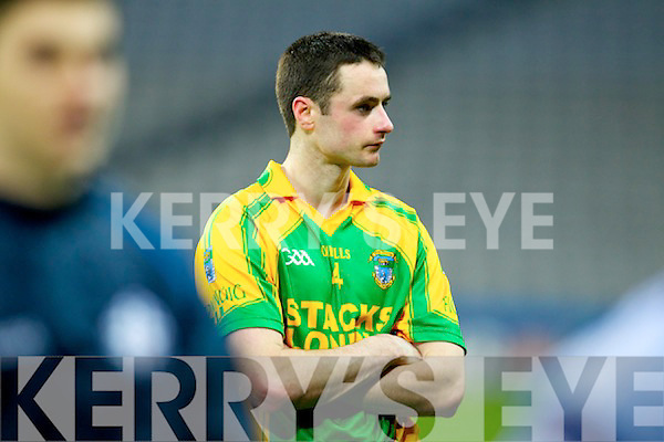 Declan McCarthy Finuge dejected after being defeated by Cookstown Fr Rocks Tyrone in the All Ireland Intermediate Final at Croke Park on Saturday.