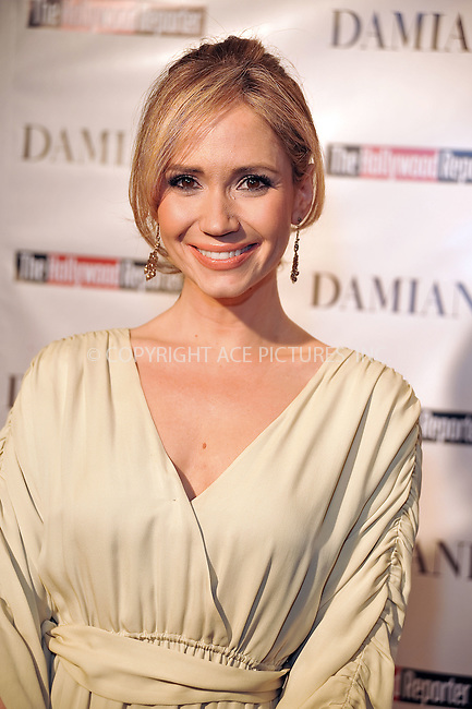 WWW.ACEPIXS.COM . . . . . ....December 3 2009, Hollywood....Ashley Jones at the Damiani Diamonds & The Hollywood Reporter Power 100 Women in Entertainment on December 3, 2009 in Beverly Hills, California.....Please byline: JOE WEST- ACEPIXS.COM.. . . . . . ..Ace Pictures, Inc:  ..(646) 769 0430..e-mail: info@acepixs.com..web: http://www.acepixs.com