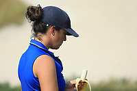 Manon Molle (FRA) during the first round of the Fatima Bint Mubarak Ladies Open played at Saadiyat Beach Golf Club, Abu Dhabi, UAE. 10/01/2019<br /> Picture: Golffile | Phil Inglis<br /> <br /> All photo usage must carry mandatory copyright credit (© Golffile | Phil Inglis)
