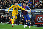 League Santander 2017/2018. Game: 28.<br /> FC Barcelona vs At. Madrid: 1-0.<br /> Gimenez vs Luis Suarez.