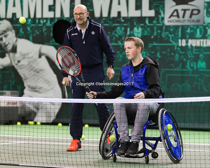 ABN AMRO World Tennis Tournament, Rotterdam, The Netherlands, 17 Februari, 2017<br /> Photo: Henk Koster