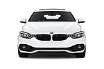 Car photography straight front view of a 2018 BMW 4 Series Gran Coupe 2wd 430i 5 Door Hatchback