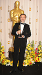 HOLLYWOOD, CA. - March 07: Actor Christoph Waltz, winner of Best Supporting Actor award for 'Inglourious Basterds,' poses in the press room at the 82nd Annual Academy Awards held at the Kodak Theatre on March 7, 2010 in Hollywood, California.