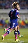 Mizuho Sakaguchi (JPN), MAY 28, 2015 - Football / Soccer : KIRIN Challenge Cup 2015 match between Japan 1-0 Italy at Minaminagano Sports Park, <br /> Nagano, Japan. (Photo by Yusuke Nakansihi/AFLO SPORT)