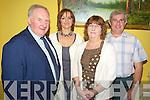 Pictured at the Killorglin Rowing club fundraiser in the Manor Inn, Killorglin on Saturday night were Michael Fleming, Fiona Hyde, Una McGillycuddy and John O'Grady.