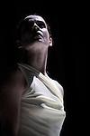 LA CONSTELLATION CONSTERNEE..ECLATS DE SIMULACRE duo 2009....Choregraphie : LEBRUN Thomas..Compagnie : Compagnie Illico..Lumiere : SERRE Jean Marc..Costumes : GUELLAFF Jeanne..Avec :..CAZAUX Anthony..MIAZZO Claudia....Lieu : Centre National de la danse..Cadre : Moisson d'hiver..Ville : Pantin..Le : 19 01 2010..© Laurent PAILLIER / photosdedanse.com..All rights reserved