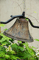 Decorative garden bell.