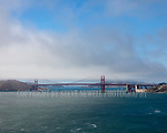 Summer Day,Golden Gate Bridge,SanFrancisco,California,Pacific Ocean,fog,classic,fine art landscape,landscape, Presidio SanFrancisco,