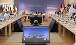 Reunião informal dos Ministros de Negócios estrangeiros, Viana do castelo 7 e 8 de Setembro 2007..Reunião de 8 de Setembro