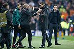 12.12.2019 Rangers v Young Boys Bern: Steven Gerrard and Gary McAllister