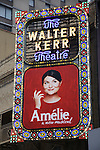 'Amelie - A New Musical' - Theatre Marquee