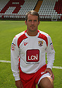 Lee Boylan of Stevenage  at the Stevenage FC team photo shoot at The Lamex Stadium, Broadhall Way, Stevenage on Saturday, 24th July, 2010.© Kevin Coleman 2010