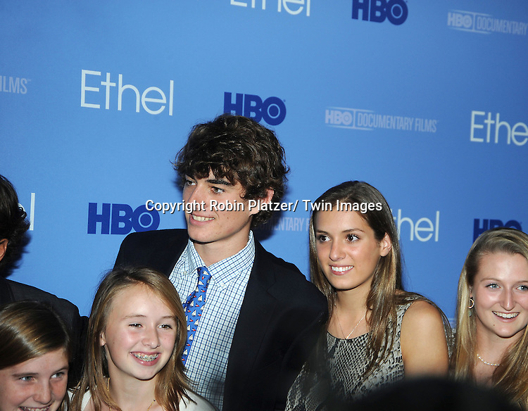 """Conor Kennedy attends the New York Premiere of """"Ethel"""", the documentary about Ethel"""