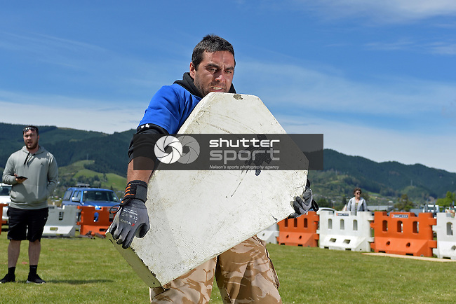 NELSON, NEW ZEALAND - NOVEMBER 20: 2016 Vortex Spas Strongman Event Day 2 at the 2016 Nelson A&P Show, Nelson, November 20, New Zealand. (Photo by: Barry Whittnall/Shuttersport Limited)