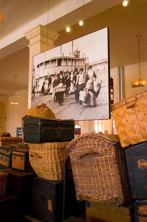 New York City, New York: Ellis Island, immigrant gateway  .Photo #: ny205-14830  .Photo copyright Lee Foster, www.fostertravel.com, lee@fostertravel.com, 510-549-2202.
