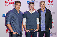 LOS ANGELES, CA - DECEMBER 06: KIIS FM's Jingle Ball 2013 Presented By T-Mobile In Partnership With Samsung held at Staples Center on December 6, 2013 in Los Angeles, California. (Photo by Cliff Robertson/Celebrity Monitor)