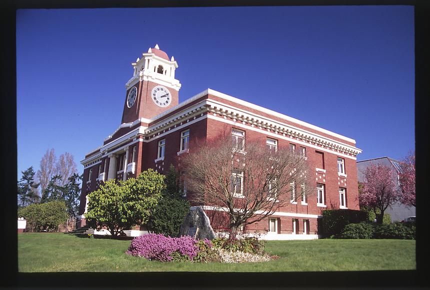 Clallam County Courthouse, Port Angeles, Olympic Peninsula, Washington, US