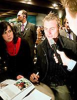 18-2-08, Netherlands, Rotterdam ABNAMROWTT 2008, interview hewitt