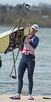 Caversham. Berkshire. UK<br /> Heather STANNING.<br /> 2016 GBRowing European Team Announcement,  <br /> <br /> Wednesday  06/04/2016 <br /> <br /> [Mandatory Credit; Peter SPURRIER/Intersport-images]
