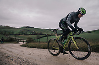 Edvald Boasson Hagen (NOR/Dimension Data)<br /> <br /> 12th Strade Bianche 2018<br /> Siena &gt; Siena: 184km (ITALY)