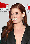 Debra Messing attends the 'Outside Mullinger' Broadway opening night after party at The Copacabana on January 23, 2014 in New York City.