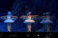 Members of the Hungarian National Ballet Company perform in The Nutcracker during the christmas holiday performance of the Hungarian National Ballet Company in in Budapest, Hungary on December 22, 2006. ATTILA VOLGYI