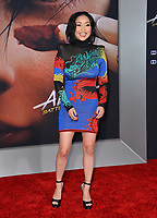 LOS ANGELES, CA. February 05, 2019: Lana Condor at the premiere for &quot;Alita: Battle Angel&quot; at the Regency Village Theatre, Westwood.<br /> Picture: Paul Smith/Featureflash