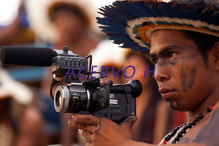XI Jogos indígenas.<br /> Porto Nacional, Tocantins, Brasil.<br /> Foto Paulo Santos.<br /> 07/11/2011.