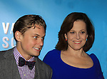 """As The World Turns Billy Magnussen and Sigourney Weaver star iin Broadway's """"Vanya and Sonia and Masha and Spike"""" which had its opening night on March 14, 2013 at the Golden Theatre, New York City, New York.  (Photo by Sue Coflin/Max Photos)"""