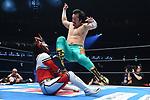 Jyushin Thunder vs Ryusuke Taguchi during the Jyushin Thunder Liger Retirement Match 1 New Japan Pro-Wrestling Wrestle Kingdom 14 at Tokyo Dome on January 4, 2020 in Tokyo, Japan. (Photo by New Japan Pro-Wrestling/AFLO)