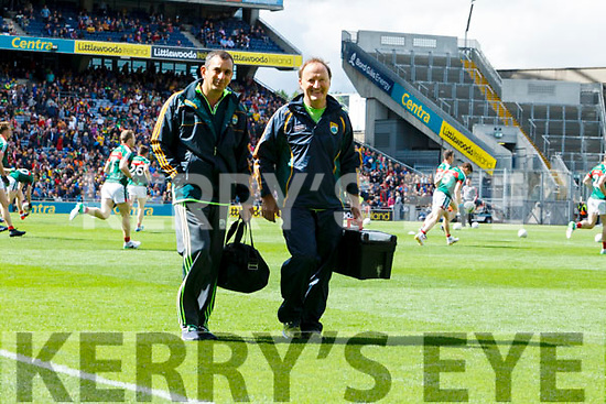 Dr Michael Finnerty Kerry after the All Ireland Senior Football Quarter Final with Galway at Croke Park on Sunday.