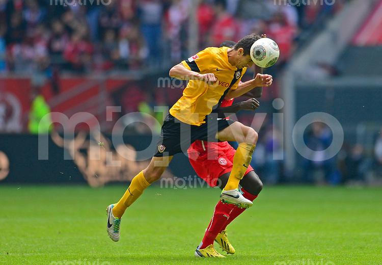 Fussball, 2. Bundesliga, Saison 2013/14, 7. Spieltag, Fortuna Duesseldorf - SG Dynamo Dresden, Sonntag (15.09.13), Duesseldorf, Esprit Arena. Dresdens Anthony Losilla am Ball.