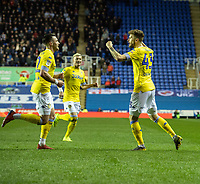 Leeds United's Mateusz Klich celebrates scoring his side's first goal <br /> <br /> Photographer David Horton/CameraSport<br /> <br /> The EFL Sky Bet Championship - Reading v Leeds United - Tuesday 12th March 2019 - Madejski Stadium - Reading<br /> <br /> World Copyright &copy; 2019 CameraSport. All rights reserved. 43 Linden Ave. Countesthorpe. Leicester. England. LE8 5PG - Tel: +44 (0) 116 277 4147 - admin@camerasport.com - www.camerasport.com