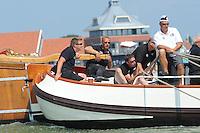 ZEILEN: STAVOREN: IJsselmeer, 26-07-2014, SKS skûtsjesilen, skûtsje It Doarp Huzum, schipper Lodewijk Hzn Meeter, ©Martin de Jong
