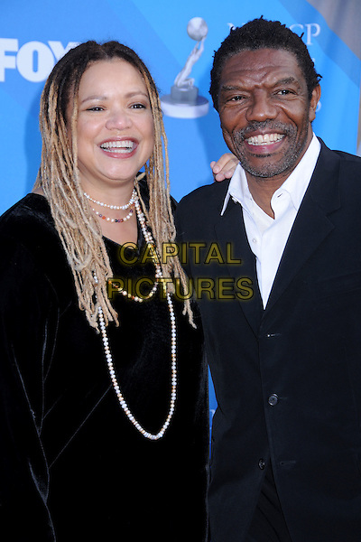 KASI LEMMONS & VONDIE CURTIS-HALL.39th Annual NAACP Image Awards - Arrivals at the Shrine Auditorium, Los Angeles, California, USA, .14 February 2008..half length.CAP/ADM/BP.?Byron Purvis/Admedia/Capital Pictures