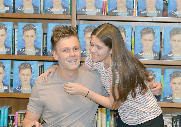 CORAL GABLES, FL - JUNE 09: Caspar Lee signs copies of his book 'Caspar Lee' at Books and Books on June 9, 2016 in Coral Gables, Florida. Credit: MPI10 / MediaPunch