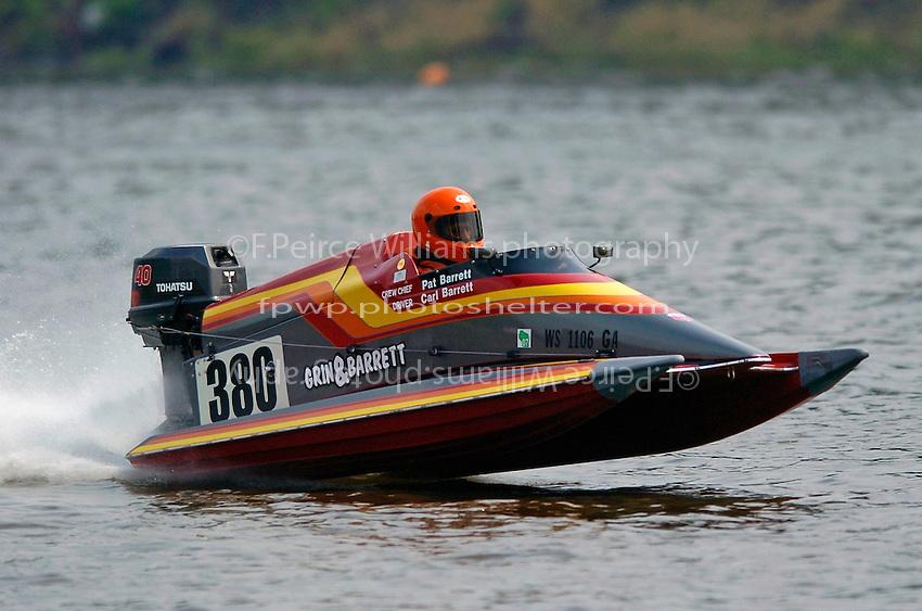 Carl Barrett, #380(Sport C Tunnel Boat(s)