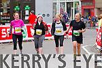 Jason Flaherty, 1156, Louise Mahoney, 1305, Margret Mahoney, 1306 and Anthony Durnin, 92  who took part in the 2015 Kerry's Eye Tralee International Marathon Tralee on Sunday.