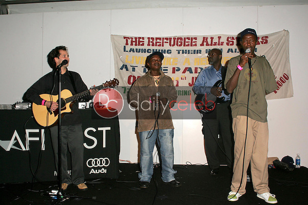 """The Refugee All Stars<br />performing at the After Party following the AFI FEST 2005 premiere of """"The Refugee All Stars"""". Audi Pavilion, Hollywood, CA. 11-09-05<br />Dave Edwards/DailyCeleb.com 818-249-4998"""