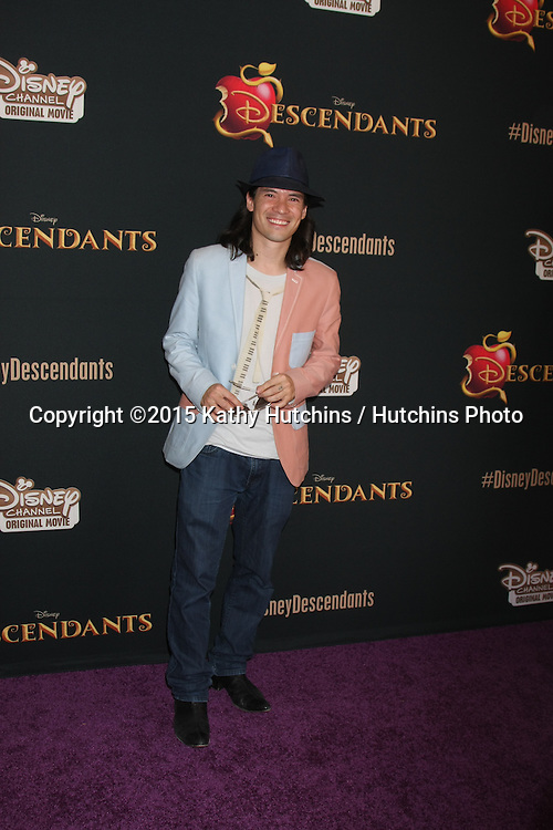 "LOS ANGELES - JUL 24:  Charles ""Chucky"" Klapow at the ""Descendants"" Premiere Screening at the Walt Disney Studios on July 24, 2015 in Burbank, CA"