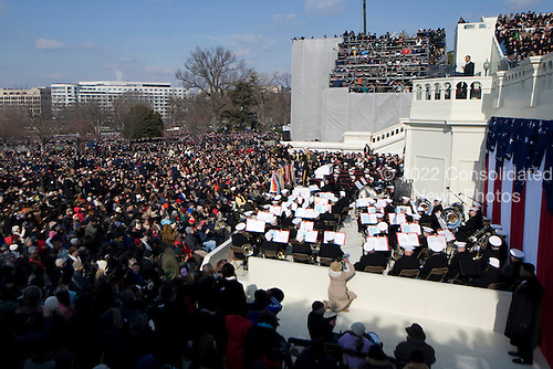 Washington, DC - January 20, 2009 -- 44th United States President Barack Obama addresses the audience during his inaugural address, at the United States Capitol in Washington, D.C., Tuesday, January 20, 2009.Credit: Chad J. McNeeley - DoD via CNP