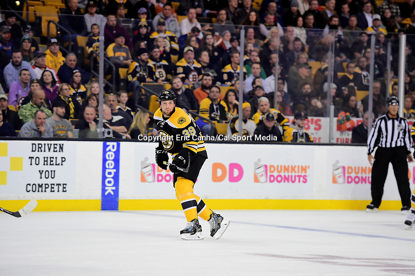during the National Hockey League game between the Minnesota Wild and the Boston Bruins held at TD Garden, in Boston, Mass. Minnesota defeats Boston 5-0. Eric Canha/CSM