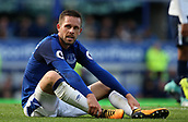 9th September 2017, Goodison Park, Liverpool, England; EPL Premier League Football, Everton versus Tottenham; Gylfi Sigurdsson of Everton reacts to a missed goal scoring opportunity