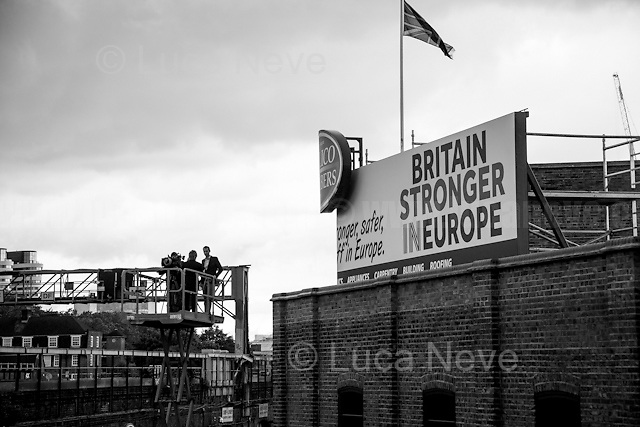 Interview at high altitude...<br />