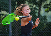Hilversum, Netherlands, August 7, 2017, National Junior Championships, NJK, Renske Ubachs<br /> Photo: Tennisimages/Henk Koster